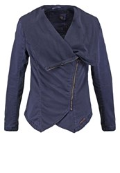 Khujo Buffi Summer Jacket Indigo Dark Blue