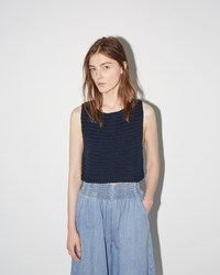 Rachel Comey Cropped Tank Navy
