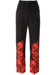 Fendi Vintage Woman Trousers Black