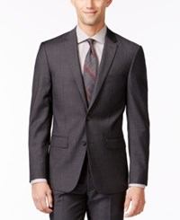 Dkny Grey Jacket Extra Slim Fit
