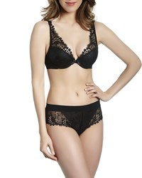 Simone Perele Wish Triangle Contour Bra Black