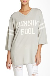 Wildfox Couture Runnin' Fool Jersey Tunic Multi