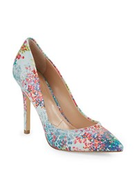 Charles By Charles David Pact Leather Stiletto Pumps Multi Colored