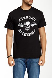 Bravado Avenged Sevenfold Classic Deathbat Graphic Tee Black