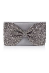 Coast Sparkle Bow Bag Gunmetal
