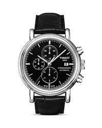 Tissot Carson Men's Black Automatic Chronograph Classic Watch 43Mm No Color