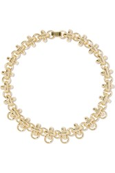 Giles And Brother Gold Plated Necklace Metallic