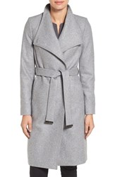 Ted Baker Women's London Wrap Coat Grey Marl