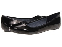 Dr. Scholl's Friendly Black Patent Women's Flat Shoes
