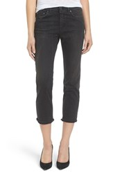 Acne Studios Women's Row Relaxed Crop Jeans