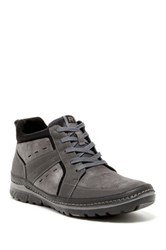 Rockport Activeflex Rockspot Leather Boot Wide Width Available Gray