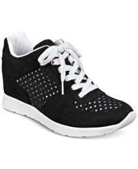 Guess Women's Laceyy Lace Up Wedge Sneakers Women's Shoes