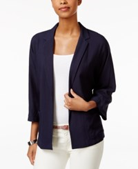 Tommy Hilfiger Open Front Blazer Masters Navy