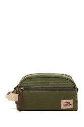 Timberland Canvas With Patch Travel Kit Green