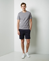 Band Of Outsiders Woven Waistband Short Navy