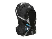 High Sierra Moray 22L Hydration Pack Black Silver Luggage