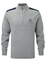 Henri Lloyd Half Zip Sweater Grey