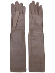 Maison Martin Margiela Long Gloves Grey