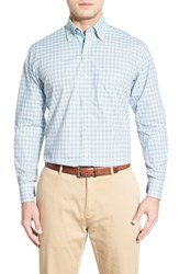 Men's Tailorbyrd 'Freesia' Regular Fit Plaid Sport Shirt