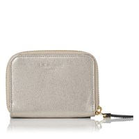 Lk Bennett L.K. Kendra Card And Coin Purses Champagne