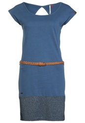 Ragwear Soho Jersey Dress Blau Blue
