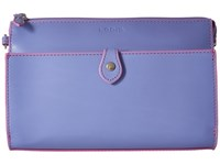 Lodis Audrey Vicky Convertible Crossbody Clutch Lilac Rose Clutch Handbags Blue