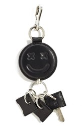 Women's Alexander Wang 'Smiley' Key Ring Bag Charm Black
