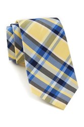Tommy Hilfiger Sunwashed Plaid Tie Yellow