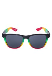 Neff Daily Sunglasses Rasta Spray Black