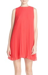 Women's Bb Dakota Pleated Trapeze Shift Dress