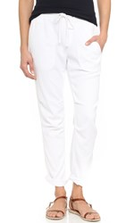 James Perse Super Soft Twill Pants White