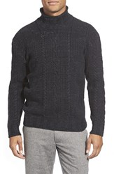 Men's Grayers 'Albert' Funnel Neck Cable Knit Sweater