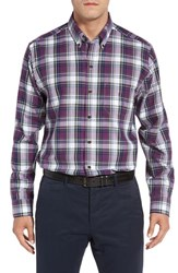 Cutter And Buck Men's Big Tall Meadow Plaid Sport Shirt