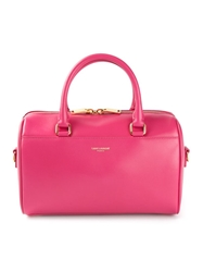 Saint Laurent Small 'Baby Duffle' Tote Pink And Purple
