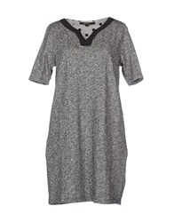 La Fee Maraboutee Short Dresses Grey