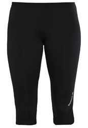 Reebok 3 4 Sports Trousers Black Syello