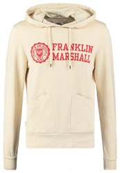 Franklin And Marshall Hoodie Vanilla Off White