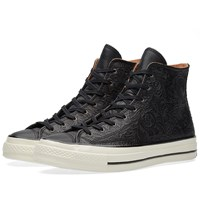 Converse Chuck Taylor 1970S Hi Embossed Floral Black