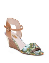 Louise Et Cie Kami Wedge Sandals Blue