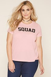 Forever 21 Plus Size Squad Graphic Tee