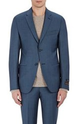Barneys New York Two Button Renzo Sportcoat Blue