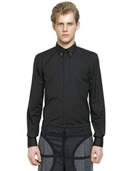 Givenchy Cuban Fit 17 Cotton Poplin Shirt