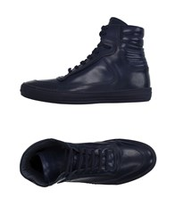 Diesel Black Gold Footwear High Tops And Trainers Men Dark Blue