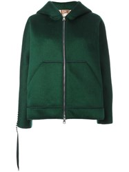 N 21 No21 Zip Up Hoodie Green