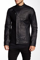Helmut Lang Dispatch Leather Jacket Black