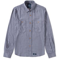 Bleu De Paname 2 Pocket Shirt Blue