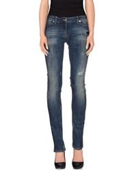 Annarita N. Denim Denim Trousers Women Blue