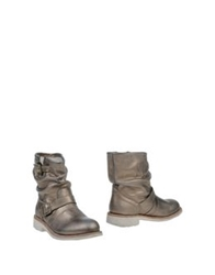 Bikkembergs Ankle Boots Bronze
