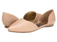 Tommy Hilfiger Naree3 Light Beige Nappa Leather Women's Flat Shoes Pink
