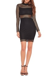 Missguided Women's Fishnet Minidress